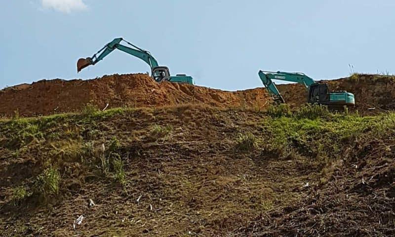 Camex Civil - Projects - Earthworks - 2017 Azimuth Subdivision - Tirua Coromandel