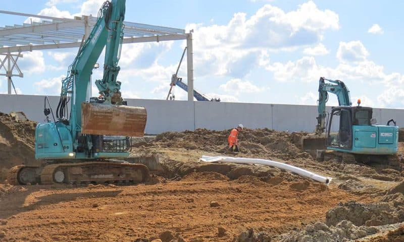 Camex Civil - Projects - Earthworks - 2017 Titanium Park West Precinct - Hamilton Airport