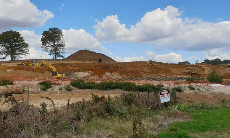 Camex Civil - Projects - Earthworks - 2020 Dixon Northview Stage 1 - Ohaupo Road