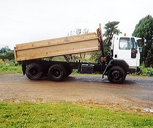 Camex Civil - History - 1998 Cambridge Excavators First Truck