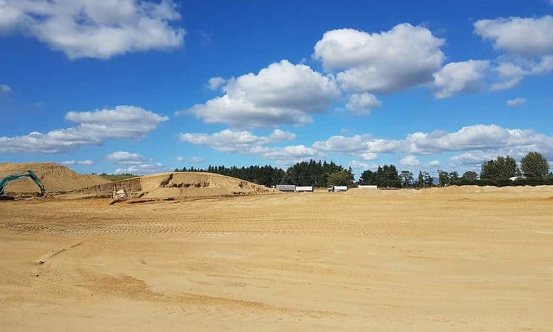 Camex Civil - Projects - Earthworks - 2019 - Titanium South Precinct, Hamilton Airport
