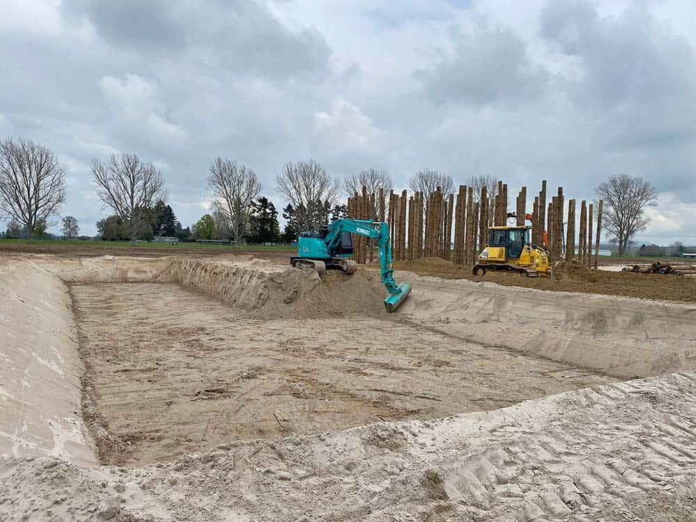 Camex Civil - News - 2020 Ecogas Reporoa - Pond & Pilling